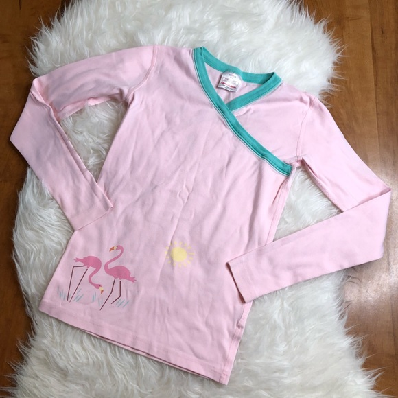 Hanna Andersson Other - Hanna Andersson Girls 160 14 Pajama Shirt Pink